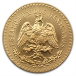 Mexico 1947 50 Pesos Gold Coin - MS-69 PCGS (Restrike)