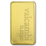 1 gram Valcambi Gold Bar (In Assay) .9999 Fine