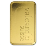 5 gram Valcambi Gold Bar (In Assay) .9999 Fine
