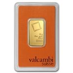 20 gram Valcambi Gold Bar (In Assay) .9999 Fine