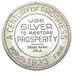 1933 Century Of Progress So Called Dollar HK-869