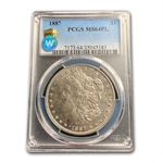 1887 Morgan Dollar - MS-64 PL Proof Like PCGS