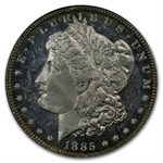 1885 Morgan Dollar MS-64 DMPL Deep Mirror Proof Like PCGS - CAC