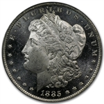 1885-O Morgan Dollar - MS-64 DMPL Deep Mirror Proof Like PCGS CAC