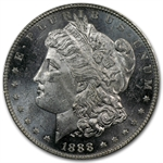 1888 Morgan Dollar MS-63 DMPL Deep Mirror Proof Like PCGS - CAC
