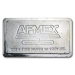 10 oz APMEX Silver Bar .999 Fine (Stackable, Scruffy)