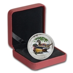 2013 1/2 oz Silver Canadian $10 Ducks of Canada – Wood Duck