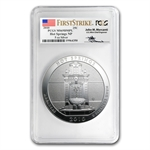 2010 5 oz Silver ATB Hot Springs MS-69 DMPL FS PCGS John Mercanti