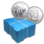 2011 1 oz Silver Canadian - Grizzly 500-Coin Monster Box (Sealed)