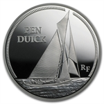 2013 5 oz Silver Proof Great French Ships - Pen Duick