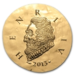 2013 1/4 oz Gold Proof Legendary Collection - Henri IV