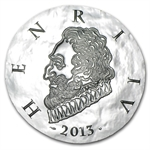 2013 10 Euro Silver Proof Legendary Collection - Henri IV