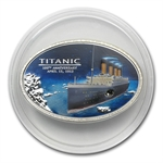 Cook Islands 2012 Silver $5 Anniversary of the Titanic