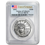 2005 Platinum American Eagle Set MS-70 PCGS (FS) Registry Set