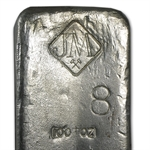 100 oz Johnson Matthey Silver Bar (Vintage / Canada) .999 Fine