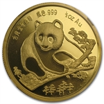 1994 1/2 oz Gold Chinese Panda Munich Coin Fair Medal NGC PF-69