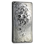 50.12 oz Heraeus Silver Bar (Poured) 999.5 Fine