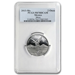 2013 2 oz Proof Silver Mexican Libertad PR-70 PCGS - Registry Set