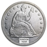 1840-1873 Liberty Seated Dollar - Almost Uncirculated