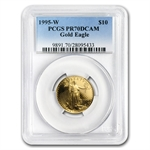 1995-W 4-Coin Proof Gold American Eagle PCGS PR-70 Registry Set