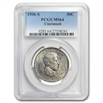 1936-P-D-S Set Cincinnati MS-64 PCGS Original Toning!