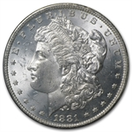 1881-O Morgan Dollar MS-63 PCGS - GSA Certified