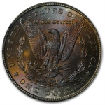 1884-CC Morgan Dollar MS-63 PCGS Neon Red Reverse - GSA Certified