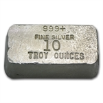 10 oz Rarities Mint Silver Bar .999 Fine (Poured)