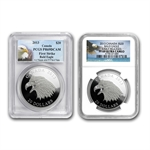2013 1 oz Silver Canadian $20 Coin - The Bald Eagle