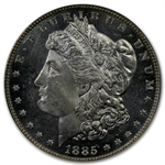 1885 Morgan Dollar - MS-63 DMPL Deep Mirror Proof Like PCGS CAC
