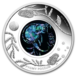 2013 1 oz Proof Silver Pygmy Possum - Australian Opal Series