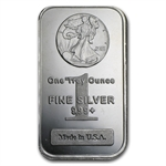 1 oz Walking Liberty Design Silver Bar .999 Fine
