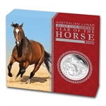 2014 1/2 oz Silver Year of the Horse Proof Coin