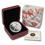 2013 1 oz Silver Canadian $20 Coin - Canadian Contemporary Art