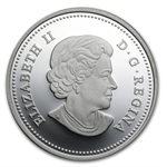 2013 1 oz Silver Canadian $20 - Maple Canopy (Autumn)