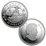 2013 3-Coin Silver Canadian Proof Set - Birth of the Royal Infant