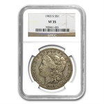 1903-S Morgan Dollar VF-35 NGC