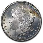 1882-CC Morgan Dollar MS-64 NGC - Rainbow Reverse - GSA Certified