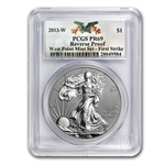 2013 American Silver Eagle West Point Set PCGS 69 First Strike
