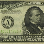 1934 (A-Boston) $1,000 FRN - (PCGS Very Fine 30) LGS