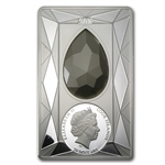 Cook Islands 2013 Proof Silver $20 Luxury Line Swarovski Crystal