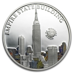 Palau 2013 Silver Proof World of Wonders - Empire State Building