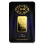 20 gram Istanbul Gold Refinery Bar (In Assay) .9999 Fine