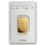 10 gram Austrian Mint Gold KineBar .9999 Fine (In Assay) New Bars