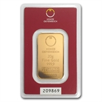 20 gram Austrian Mint Gold Bar .9999 Fine (In Assay) - New Bars!