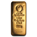 1000 gram Austrian Cast Gold Bar .9999 Fine