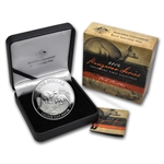 2014 1 oz Australian Proof Silver Kangaroo (Box and COA)