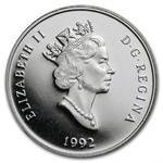 1992 1/2 oz Canadian Platinum Cougar $150 (Proof)