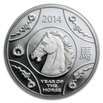 Royal Australian Mint 2014 Year of the Horse Silver Proof