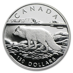 1993 1/2 oz Canadian Platinum Arctic Fox $150 (Proof)